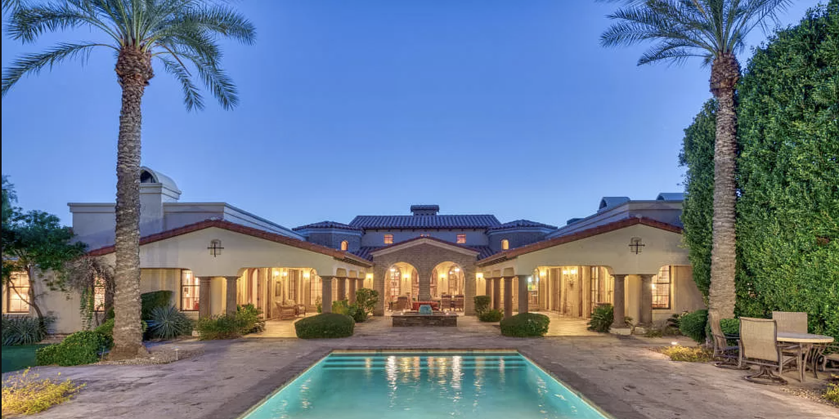 $6.3 Million Arizona Mansion for Sale Has Garage Space for 100 Cars