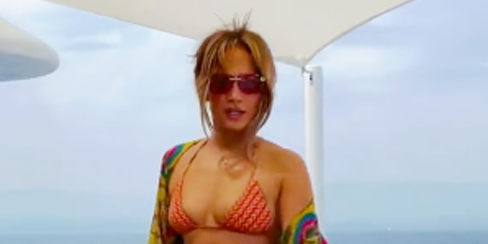 Jennifer Lopez Turns 52 And Breaks The Internet With A Bikini Photoshoot That Shows She's Toned Head To Toe