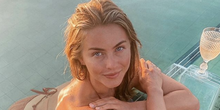 Julianne Hough, 33, Flashes Her Toned Abs And Booty While On Vacation In A New Bikini Pic On Instagram