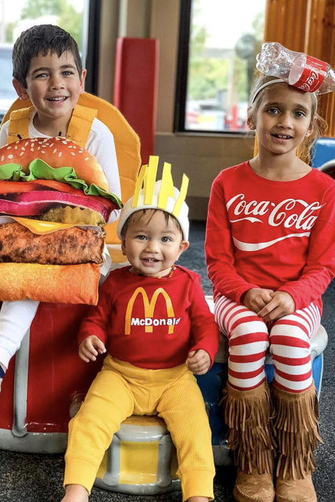 happy meal costume