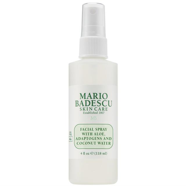mario badescu facial spray with aloe, adaptogens, and coconut water