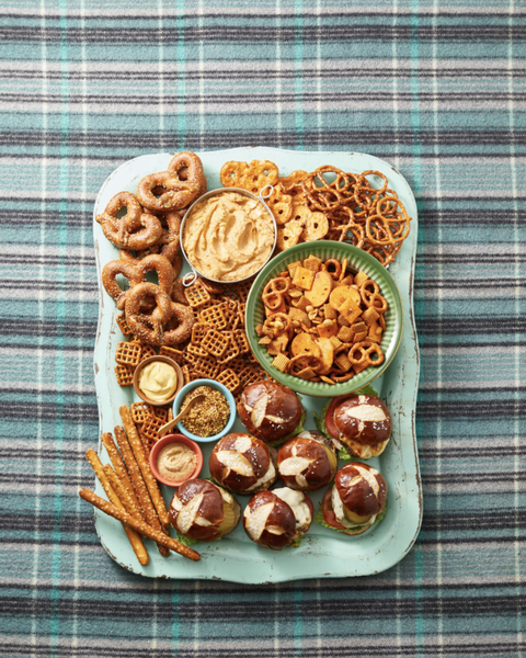 fall party ideas chip board