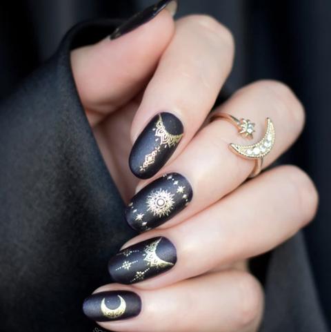 halloween nail ideas  magic nails