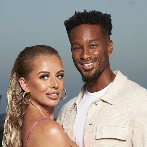 love island's faye and teddy are moving in together