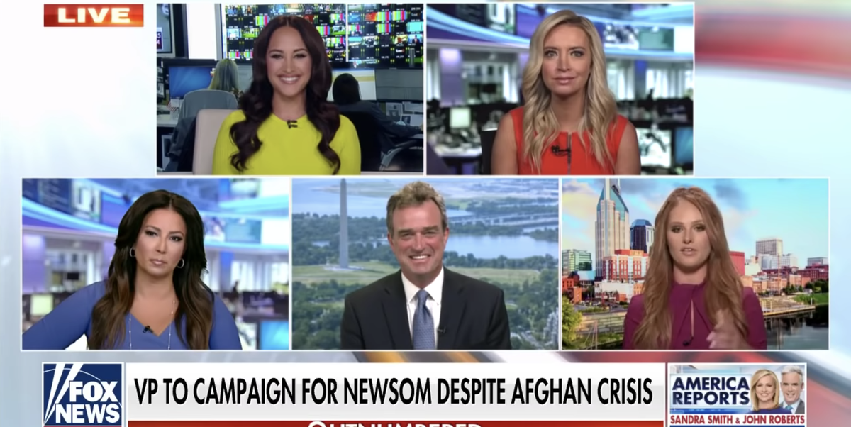 Tomi Lahren Baselessly Says Gavin Newsom Needs 'Voter Fraud' to Win California Recall Election - Esquire