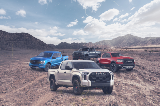 toyota tundra trd pro vs the competition