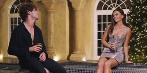 Love Island fans couldn't get over the weird thing Eyal did during the Christmas reunion
