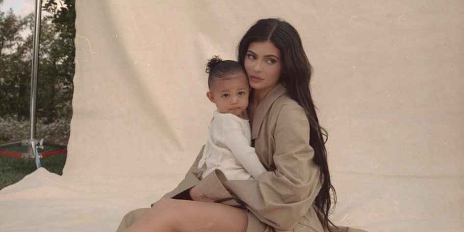 Kylie Jenner and Stormi Webster had the sweetest garden photo shoot