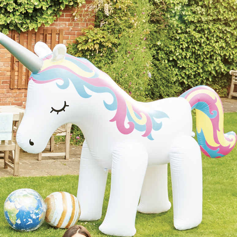 Aldi's selling a giant inflatable unicorn sprinkler that's every child's dream come true