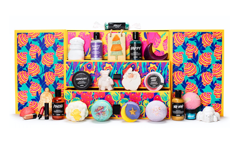 The Lush advent calendar launches 29 August