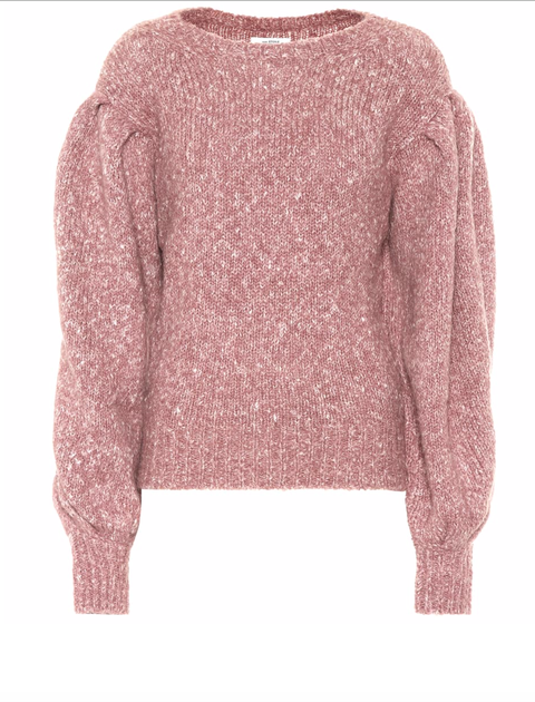 Clothing, Outerwear, Pink, Sweater, Sleeve, Top, Neck, Blouse, Cardigan, Jersey,
