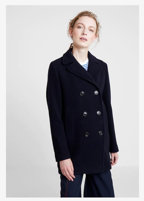 cappotto blu panno zaragiacca donna