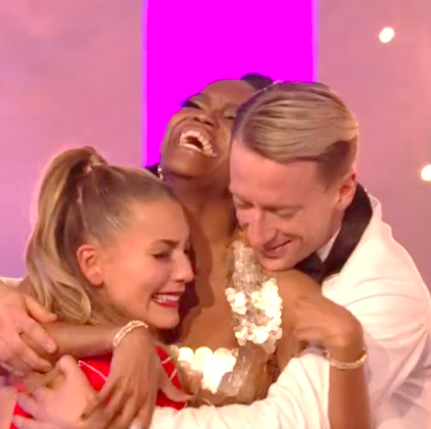Greatest Dancer winners - Oti and Michael and Jowita