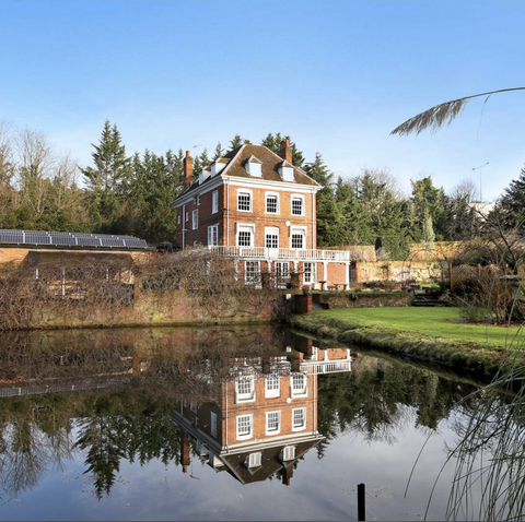 Grade II-listed home with mill pond for sale Buckinghamshire