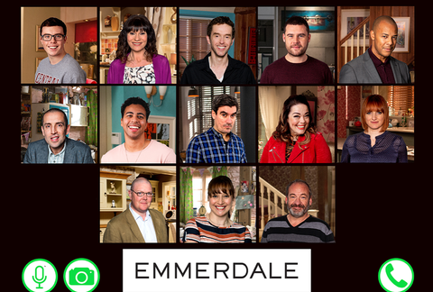 emmerdale returns to filming lockdown episodes