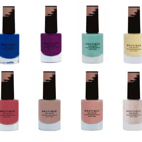 supermarket chic sainsbury's launches £3 nail polishes perfect for summer