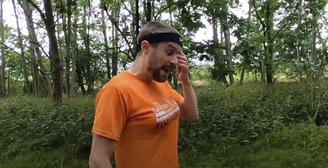 Cap, T-shirt, People in nature, Facial hair, Forest, Morning, Beard, Baseball cap, Moustache, Woodland,