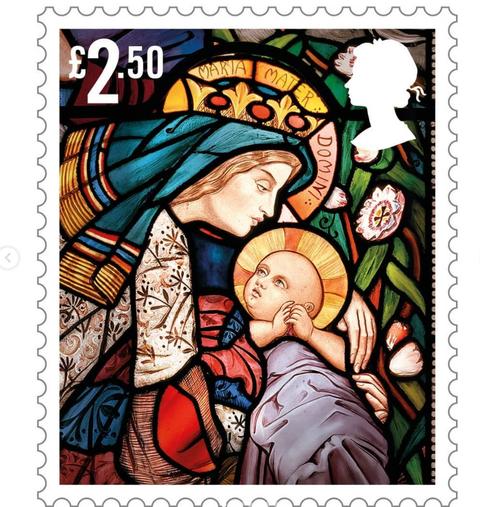 royal mail christmas stamps 2020