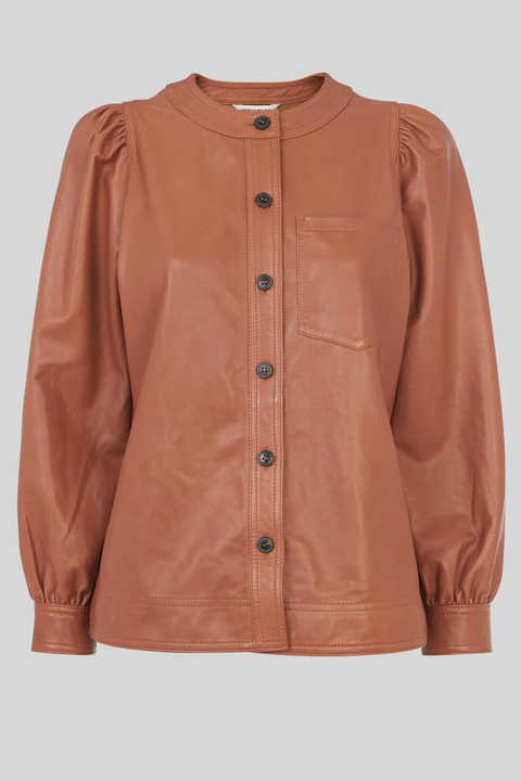 leather shirts