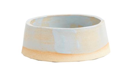 kintails x kana london ceramic dog bowl