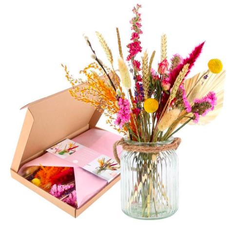 droogbloemen per post moederdag