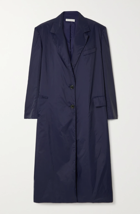 cappotto blu donna