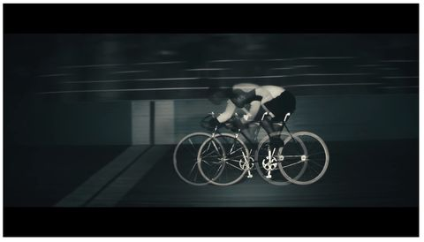 Major Taylor Pro Cyclist Hennessy Ads