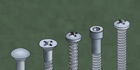 Screw, Auto part, Fastener, Cylinder, Games, Metal,