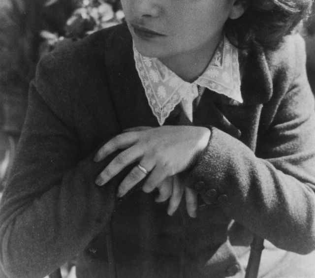 italian novelist and poet elsa morante 1918   1985, 1940s photo by pictorial paradegetty images