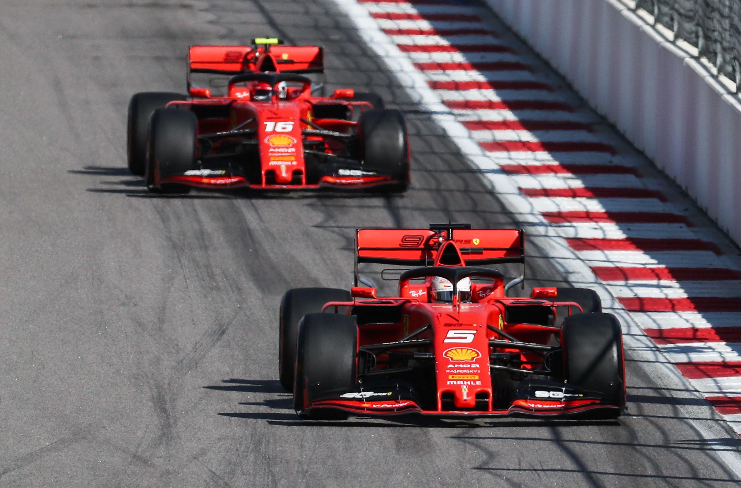 F1 Charles Leclerc Happy If Sebastian Vettel Stays At Ferrari