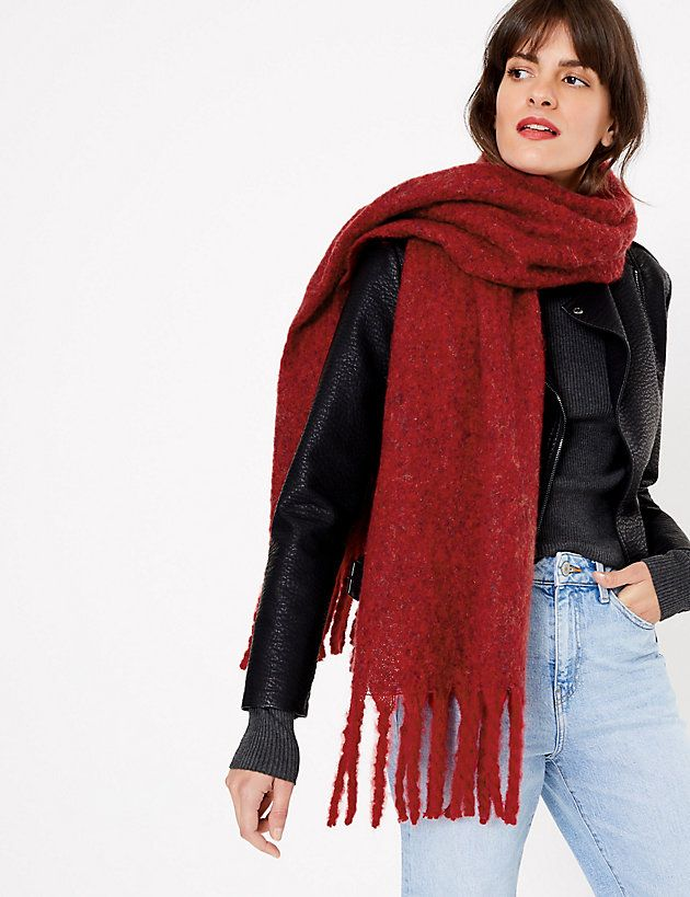 Scarves to cosy up in this winter