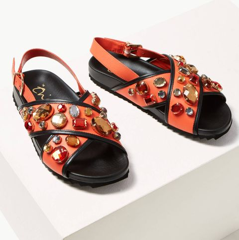 d21622948f We're in love with Marks & Spencer's limited-edition gemstone sandals