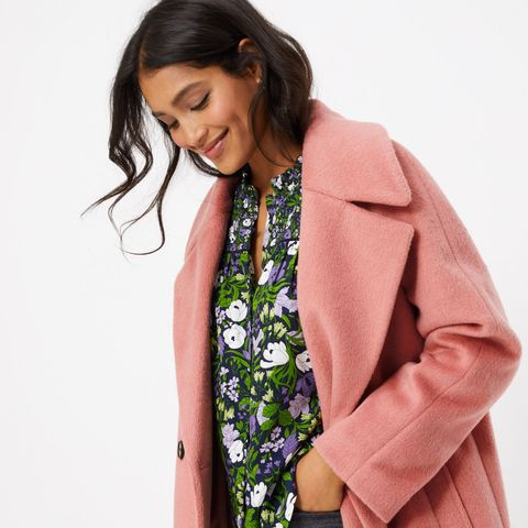 The M&S dream coat that's brightening up January