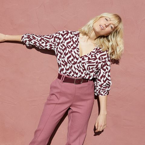 M&S geometric shirt