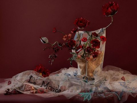 Red, Still life photography, Still life, Cut flowers, Painting, Photography, Flower, Rose, Plant, Garden roses,