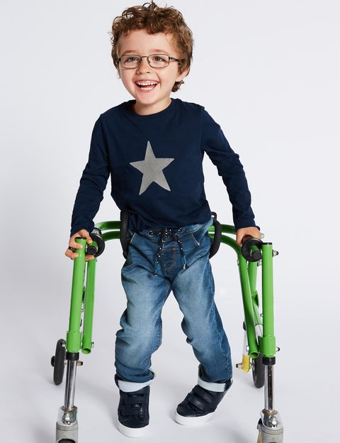Marks and Spencer clothing for disabled kids