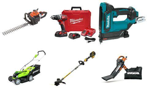 Tool, Outdoor power equipment, Power tool, Walk-behind mower,