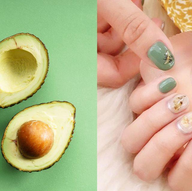 酪梨綠,顯白,夏天,美甲,beauty