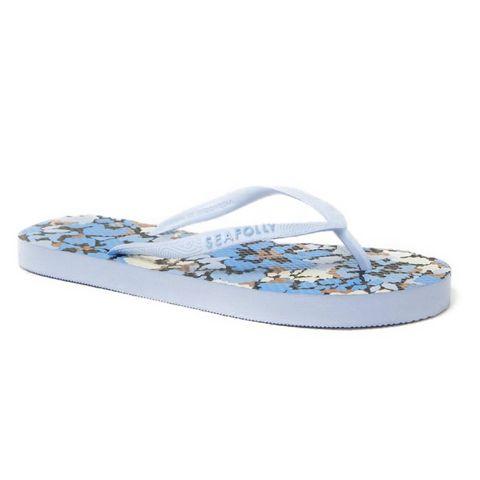 seafolly slipper met print
