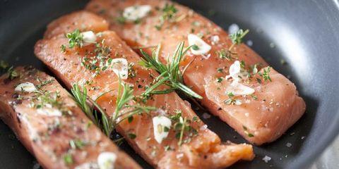Dish, Cuisine, Food, Ingredient, Salmon, Smoked salmon, Recipe, Meat, Marination, Produce,
