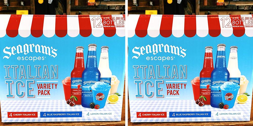 Seagram's Escapes Has An Italian Ice Variety Pack That Will Whisk You Away To Summertime