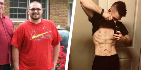 Weight Loss Transformation Time Lapse Video Video Shows Hunter Hobbs 42 Pound Weight Loss