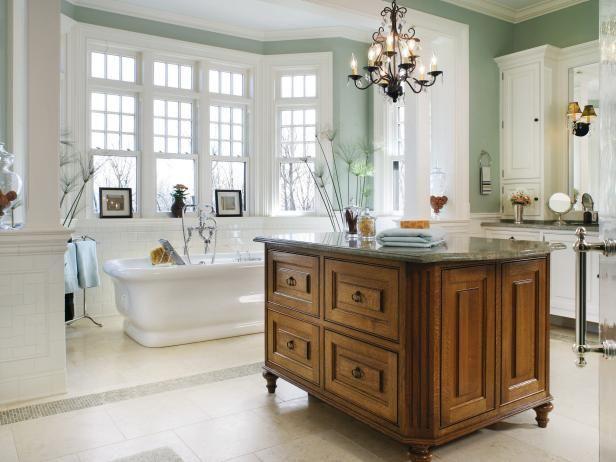 Luxury Big Bathroom Exterior