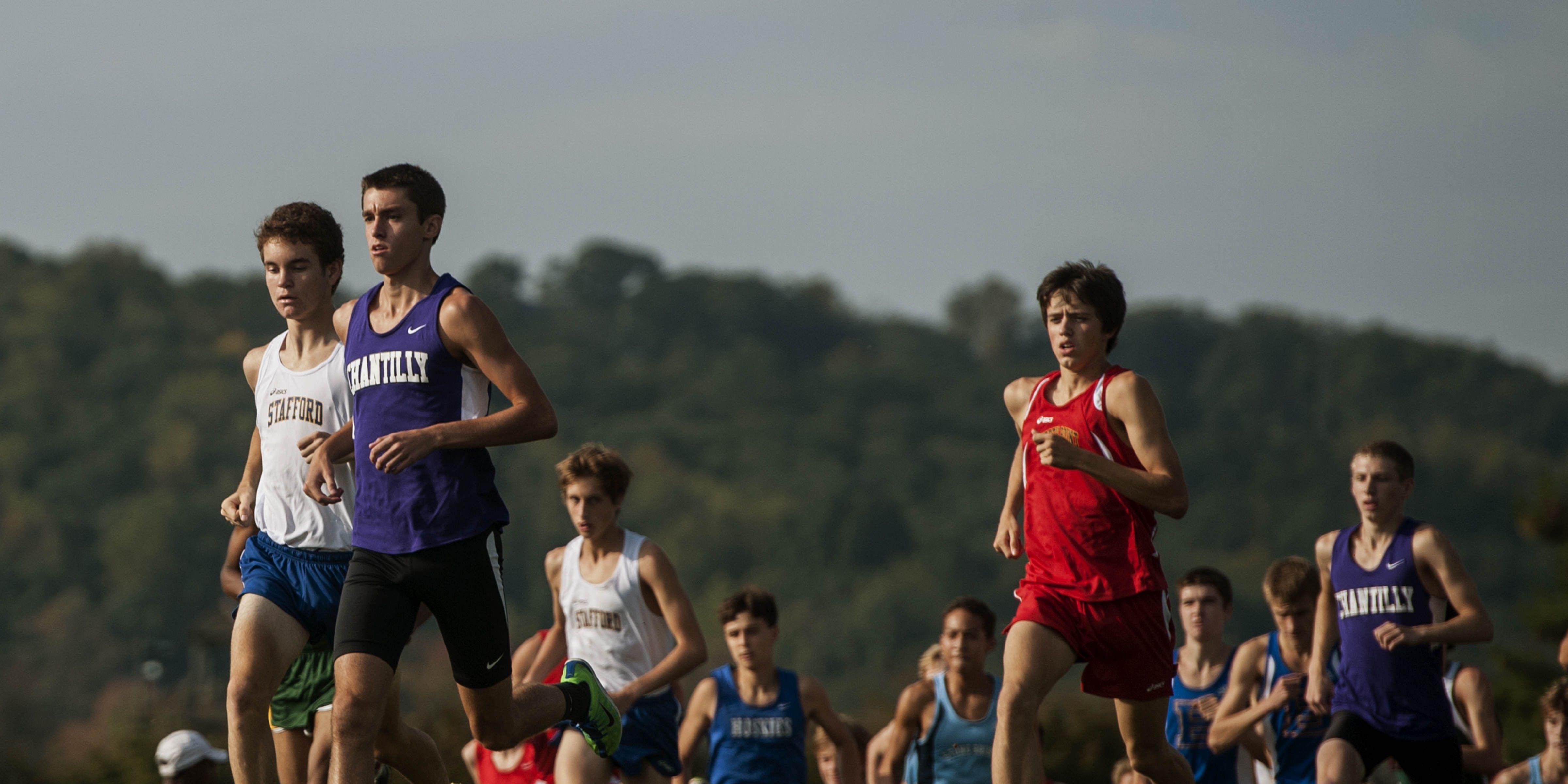 high school running
