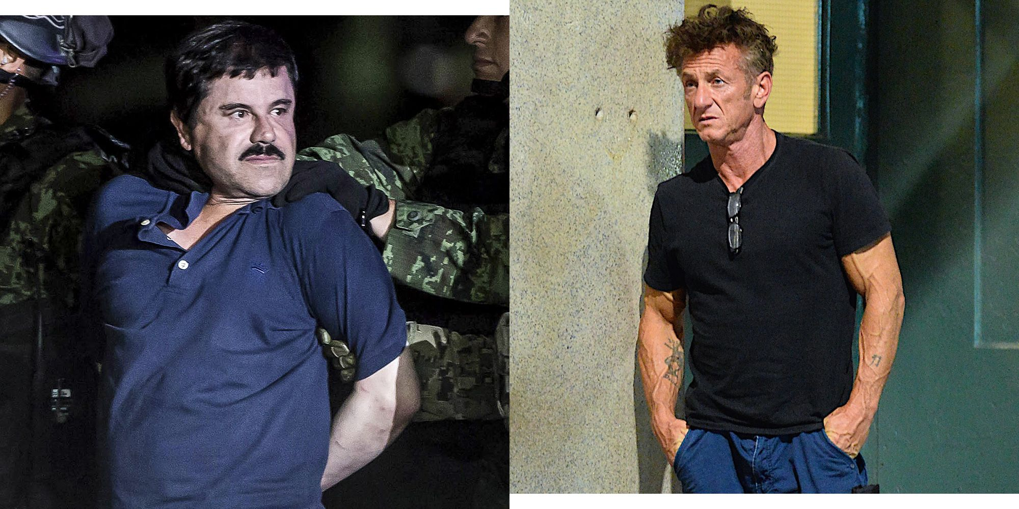 Sean Penn El Chapo Documentary Feud - Producer Says Penn's Life Isn't in  Danger