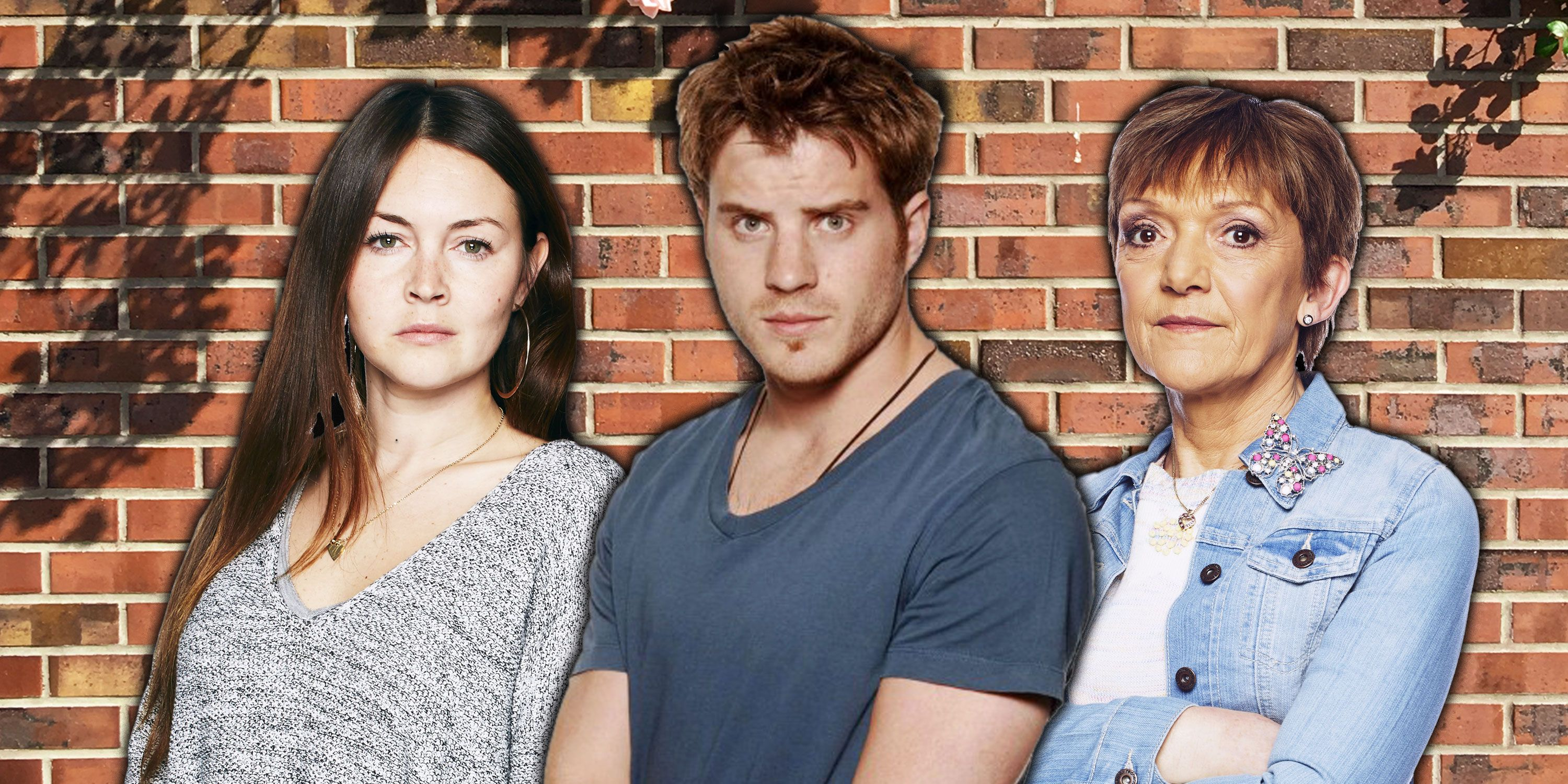 Robert Kazinsky, Gillian Wright, Lacey Turner from Eastenders