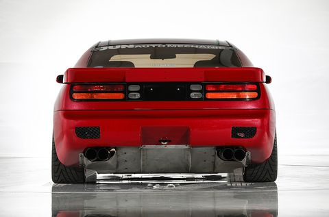 The World's Only 262MPH Nissan 300ZX Can Be Yours