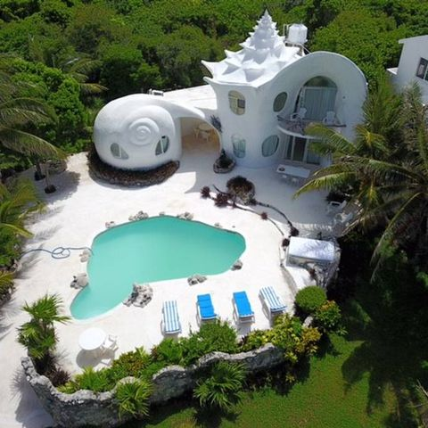 Airbnb S Seashell House Is The Right Way To Vacation In Mexico