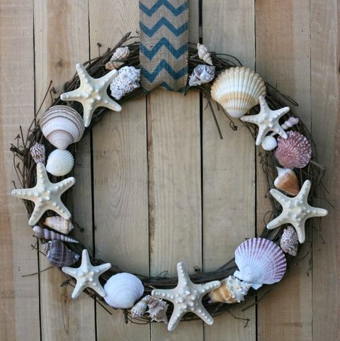 Seashell Wreath - Summer Wreaths