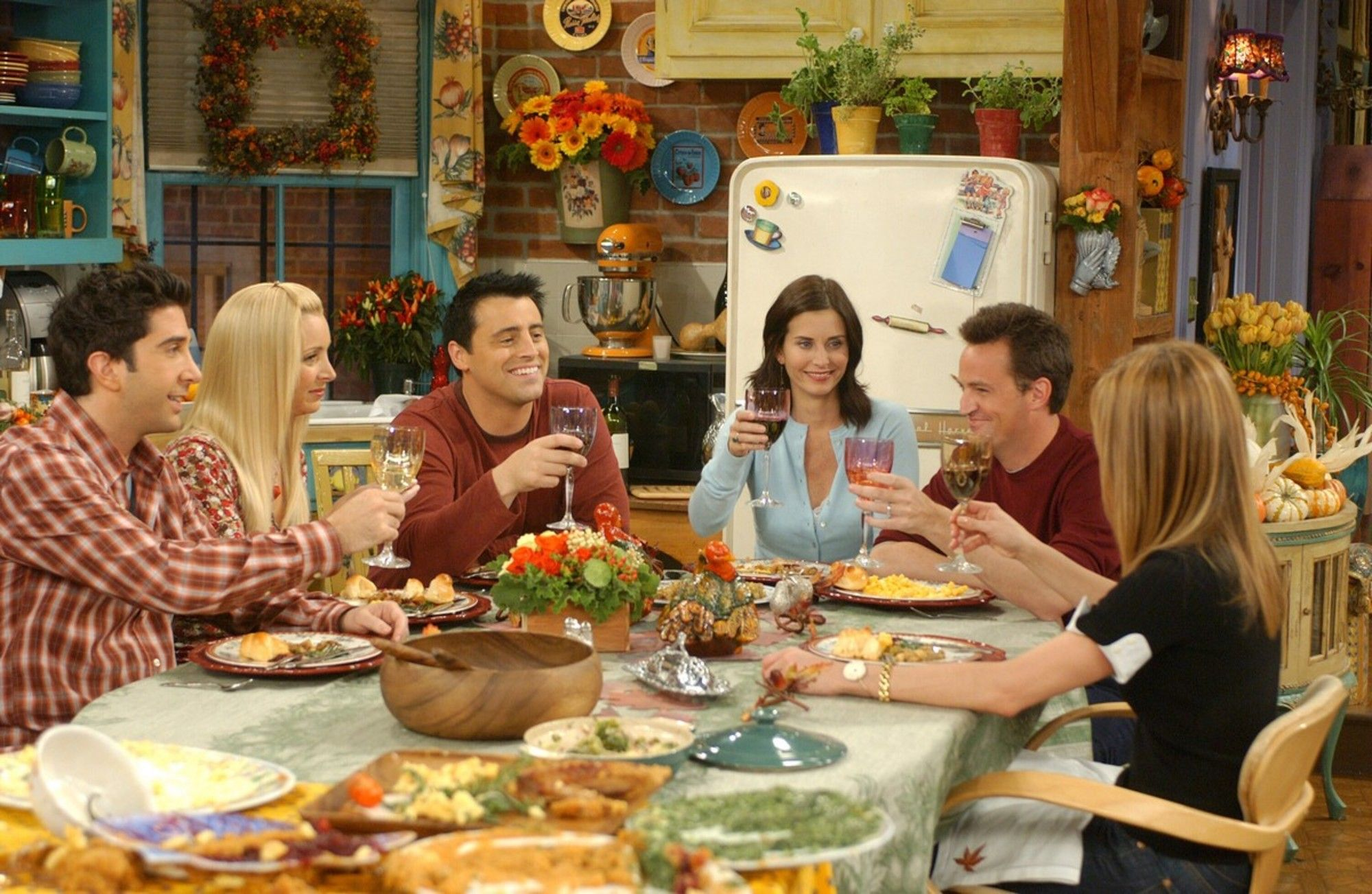 Friends' Best Thanksgiving Episodes Of All Time - Friends